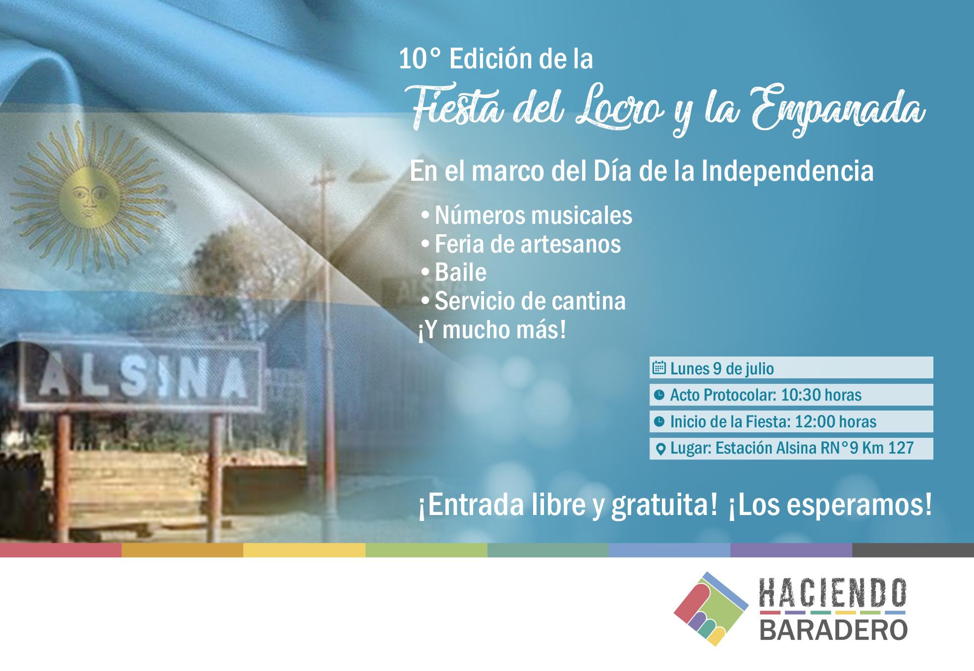 Se acerca la décima edición de la Fiesta del Locro y la Empanada en ...